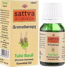 Parfüm, Parfüméria, kozmetikum Illóolaj - Sattva Ayurveda Tulsi Basil Essential Oil