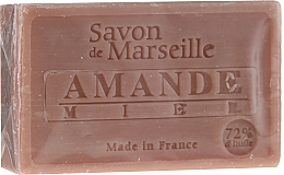"""Parfüm, Parfüméria, kozmetikum Természetes szappan """"Mandula és méz"""" - Le Chatelard 1802 Almond & Honey Soap"""