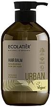 """Parfüm, Parfüméria, kozmetikum Tápláló balzsam száraz hajra """"Avokádó és mályva """" - Ecolatier Urban Hair Balm"""