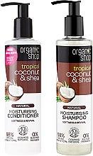 Parfüm, Parfüméria, kozmetikum Hajápoló készlet - Organic Shop (h/shm/280ml + h/cond/280ml)