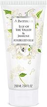 Parfüm, Parfüméria, kozmetikum Parfümös testápoló balzsam - Allverne Lily of the Valley & Jasmine