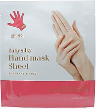 Parfüm, Parfüméria, kozmetikum Kézápoló maszk - Holika Holika Baby Silky Hand Mask Sheet