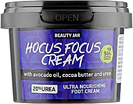 Parfüm, Parfüméria, kozmetikum Lábápoló krém - Beauty Jar Hocus Focus Cream Ultra Nourishing Foot Cream