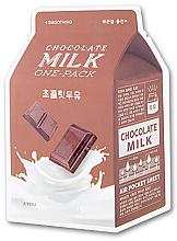 """Parfüm, Parfüméria, kozmetikum Szövetmaszk """"Csokoládé"""" - A'pieu Chocolate Milk One-Pack Soothing"""