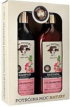Parfüm, Parfüméria, kozmetikum Szett - Mrs. Potter's Triple Flower (shm/390ml + cond/390ml)