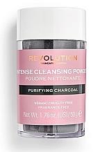 Parfüm, Parfüméria, kozmetikum Tisztító arcpúder - Revolution Skincare Purifying Charcoal Cleansing Powder