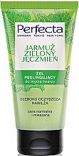 """Parfüm, Parfüméria, kozmetikum Arclemosó gél-radír """"Káposzta és zöld árpa"""" - Perfecta"""