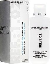 Parfüm, Parfüméria, kozmetikum Arc- és szemkörnyéktisztító tej - Aura Chake Cleansing Milk Face & Eyes