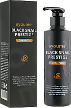 Parfüm, Parfüméria, kozmetikum sampon csigamucinnal - Ayoume Black Snail Prestige Shampoo
