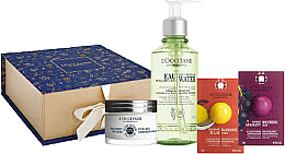 Parfüm, Parfüméria, kozmetikum Szett - L'Occitane Face Care (micellar/200ml + cr/50ml + mask/6ml + scr/6ml)