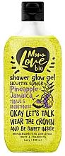 """Parfüm, Parfüméria, kozmetikum Csillogó tusfürdő """"Tónus és simaság"""" - MonoLove Bio Pineapple-Jamaica Tonus&Smoothness"""