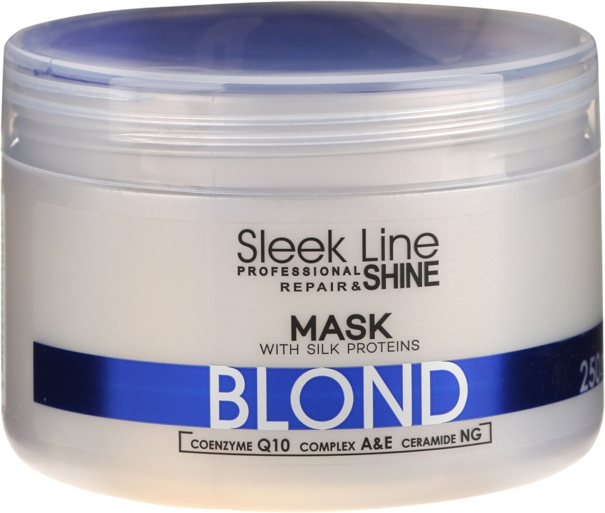 Hajmaszk - Stapiz Sleek Line Blond Hair Mask