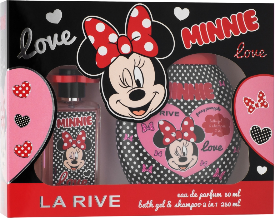 La Rive Minnie - Szett (edp/50ml+sh/gel/shm/250ml)