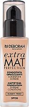 Parfüm, Parfüméria, kozmetikum Mattító alapozó arcra - Deborah Extra Mat Perfection SPF20