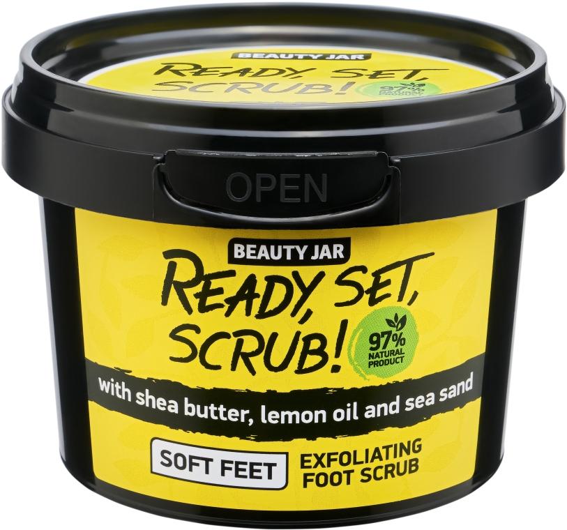 Lábpeeling - Beauty Jar Ready, Set, Scrub! Exfoliating Foot Scrub