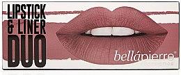 Parfüm, Parfüméria, kozmetikum Szett - Bellapierre Lipstick & Liner Duo (lip/liner/1.5 g + lipstick/3.5g) (Antique Pink)