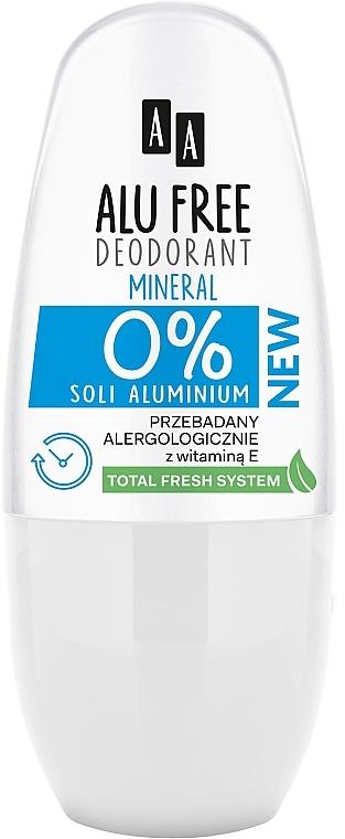 Dezodor - AA Roll-on Alu Free Mineral