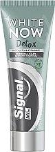 Parfüm, Parfüméria, kozmetikum Fehérítő fogkrém szénnel - Signal White Now Detox Toothpaste