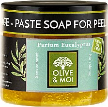 Parfüm, Parfüméria, kozmetikum Fekete szappan eukaliptusz kivonattal - Saryane Olive & Moi Savon Noir