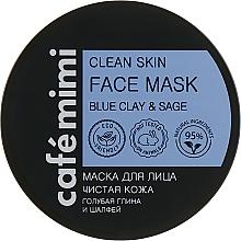 "Parfüm, Parfüméria, kozmetikum Arcmaszk ""Tiszta bőr"" - Cafe Mimi Clean Skin Face Mask"