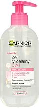 Parfüm, Parfüméria, kozmetikum Micellás gél érzékeny bőrre - Garnier Skin Naturals Cleansing Micellar Gel