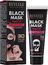 """Parfüm, Parfüméria, kozmetikum Fekete arcmaszk """"Q10"""" - Revuele Black Mask Peel Off Co-Enzymes"""