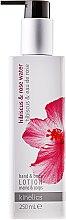 """Parfüm, Parfüméria, kozmetikum Testápoló lotion kézre és testre """"Hibiszkusz és rózsavíz"""" - Kinetics Hibiscus & Rose Water Lotion"""