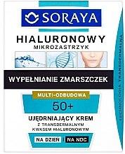 Parfüm, Parfüméria, kozmetikum Erősítő krém nappali/éjszakai - Soraya Hialuronowy Mikrozastrzyk Firming Cream 50+