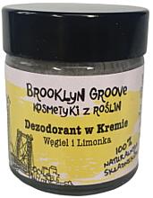 Parfüm, Parfüméria, kozmetikum Izzadásgátló krém lime és narancs illattal - Brooklyn Groove Deodorant Cream