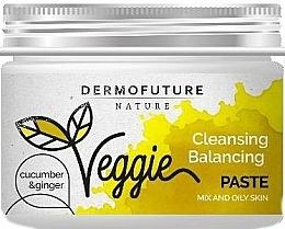 Parfüm, Parfüméria, kozmetikum Paszta zsíros arcbőrre - DermoFuture Ginger & Cucumber Pasta