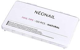 Parfüm, Parfüméria, kozmetikum Tip sablon, természetes hatás - NeoNail Professional Nail Tips Natural