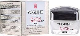 Parfüm, Parfüméria, kozmetikum Éjszakai krém normál és kombinált bőrre - Yoskine Classic Platin Peptide Face Cream 50+