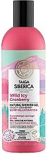 "Parfüm, Parfüméria, kozmetikum Tusfürdő ""Fagyos vörösáfonya"" - Natura Siberica Doctor Taiga Wild Icy Cranberry Natural Shower Gel"