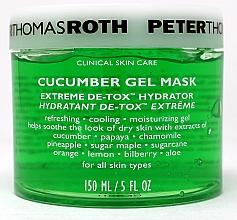 Parfüm, Parfüméria, kozmetikum Uborka gélmaszk - Peter Thomas Roth Cucumber Gel Mask Extreme De-Tox Hydrator