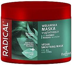 Parfüm, Parfüméria, kozmetikum Maszk simító hatással - Farmona Radical Vegan Smoothing Hair Mask