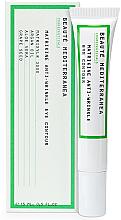 Parfüm, Parfüméria, kozmetikum Peptides fiatalító szemkrém - Beaute Mediterranea Matrikine Anti-Wrinkle Eye Contour