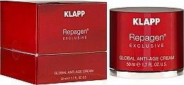Parfüm, Parfüméria, kozmetikum Komplex anti-age krém - Klapp Repagen Exclusive Global Anti-Age Cream