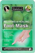 """Parfüm, Parfüméria, kozmetikum Lábmaszk """"Alma kivonat és shea vaj"""" - Beauty Formulas Relaxing And Healing Foot Mask"""
