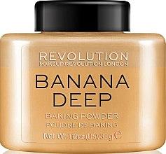 Parfüm, Parfüméria, kozmetikum Arcpúder - Makeup Revolution Banana Deep Baking Powder
