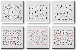 Parfüm, Parfüméria, kozmetikum Körömmatrica szett 42959 - Top Choice Nail Decorations Stickers Set