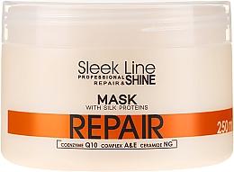 Parfüm, Parfüméria, kozmetikum Hajmaszk - Stapiz Sleek Line Repair Hair Mask