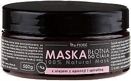 Parfüm, Parfüméria, kozmetikum Sármaszk spirulinával - E-Fiore Body Mask With Spirulina, Opuntia Oil And HA Acid