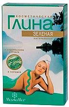 Parfüm, Parfüméria, kozmetikum Zöld testápoló agyag ezüsttel - MedikoMed