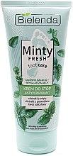 Parfüm, Parfüméria, kozmetikum Izzadásgátló lábspray, frissítő és simító - Bielenda Minty Fresh Foot Care Antiperspirant Refreshing & Smoothing Cream