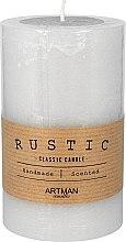 Parfüm, Parfüméria, kozmetikum Illatgyertya, 7x11,5 cm., szürke - Artman Rustic