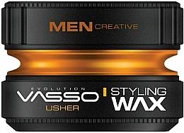 Parfüm, Parfüméria, kozmetikum Hajformázó wax - Vasso Professional Hair Styling Wax Usher