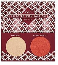 Parfüm, Parfüméria, kozmetikum Highlighter paletta - Zoeva Spice Of Life Highlighting palette