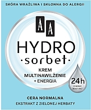 Parfüm, Parfüméria, kozmetikum Multi hidratáló arckrém - AA Hydro Sorbet Moisturising & Energising Cream