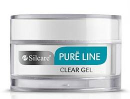 Parfüm, Parfüméria, kozmetikum Gél körömre - Silcare Pure Line Clear Gel
