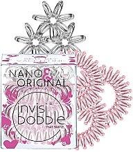 Parfüm, Parfüméria, kozmetikum Hajgumi szett, 6 db - Invisibobble Nano & Original Bee Mine